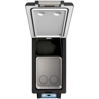 Autochladnička mraznička lednice kompresorová chladící box do auta Aroso 12V 24V 230V 52l - ochranné režimy