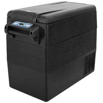 Autochladnička mraznička lednice kompresorová chladící box do auta Aroso 12V 24V 230V 52l - dokonale navržená ergonomie