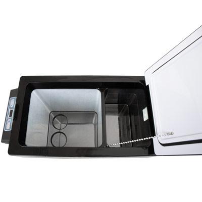 Autochladnička mraznička lednice kompresorová chladící box do auta Aroso 12V 24V 230V 52l - nízká proudová spotřeba