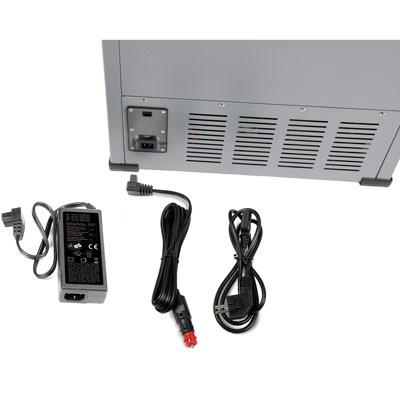 Autochladnička mraznička lednice kompresorová chladící box do auta Aroso 12V 24V 230V 60l - vícesystémové napájení