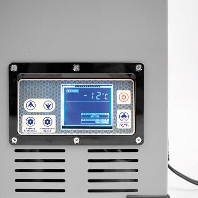 Autochladnička mraznička lednice kompresorová chladící box do auta Aroso 12V 24V 230V 60l - nízká proudová spotřeba