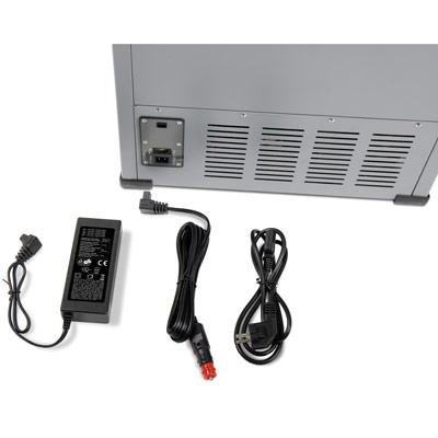 Autochladnička mraznička lednice kompresorová chladící box do auta Aroso 12V 24V 230V 95l - vícesystémové napájení