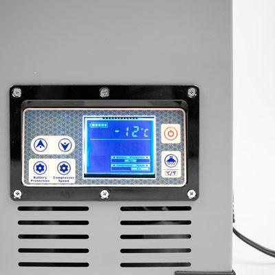 Autochladnička mraznička lednice kompresorová chladící box do auta Aroso 12V 24V 230V 95l - nízká proudová spotřeba