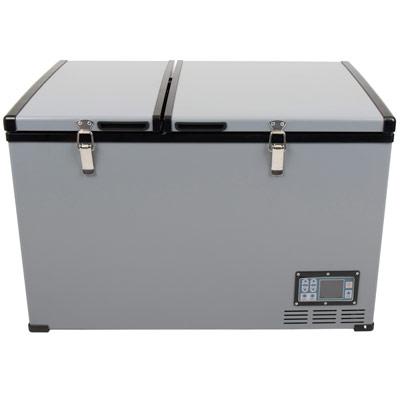 Autochladnička mraznička lednice kompresorová chladící box do auta Aroso 12V 24V 230V 100l - dokonale navržená ergonomie